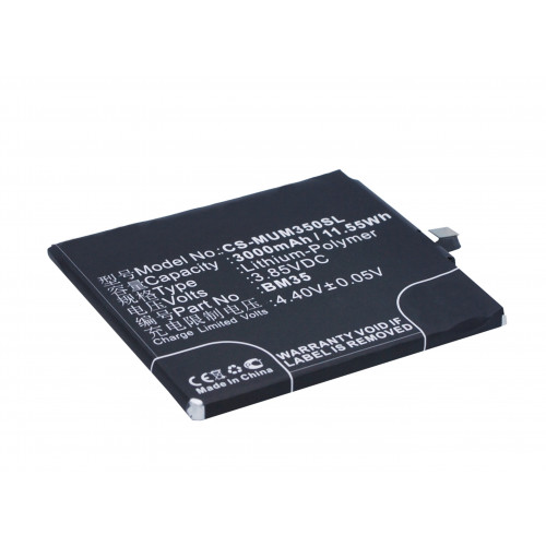 Аккумулятор CS-MUM350SL BM35 для Xiaomi Mi 4c  XIAOMI Mi 4c Dual SIM 3.85V / 3000mAh / 11.55Wh
