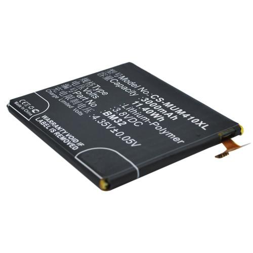 Аккумулятор CS-MUM410XL BM32 для Xiaomi Mi4 3.8V / 3000mAh / 11.40Wh