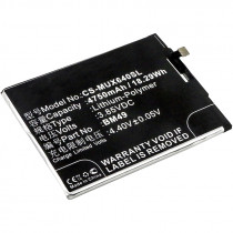 Аккумулятор CS-MUX640SL BM49 для Xiaomi Mi Max  3.85V / 4750mAh / 18.29Wh