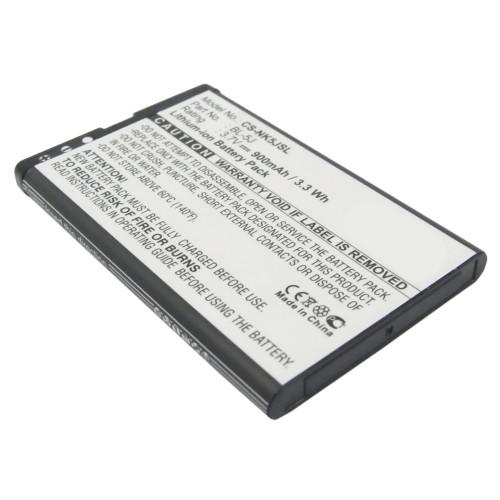 Аккумулятор CS-NK5JSL BL-5J для Nokia 5800 XpressMusic, С3, X1, X6 1320mAh 3.7V / 900mAh/3.33Wh