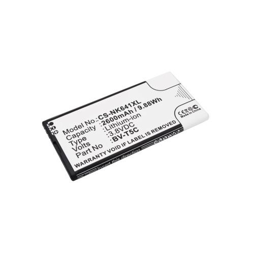 Аккумулятор CS-NK641XL BV-T5C для Microsoft Lumia 640 3.8V / 2600mAh / 9.88Wh