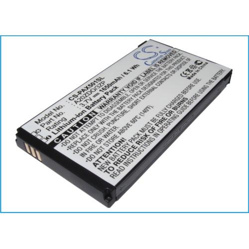 Аккумулятор CS-PAX501SL AB2000AWMC для Philips X2300/X130/X501/X513/X523/X623 3.7V / 1650mAh / 6.11W