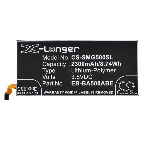 Аккумулятор CS-SMG500SL EB-BA500ABE для Samsung Galaxy A5 SM-A500F 3.8V / 2300mAh / 8.74Wh