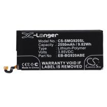Аккумулятор CS-SMG920SL EB-BG920ABE для Samsung Galaxy S6 3.85V / 2550mAh / 9.82Wh