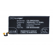 Аккумулятор CS-SMG928SL EB-BG928ABE для Samsung Galaxy S6 Edge+, 3.85V / 3000mAh / 11.55Wh