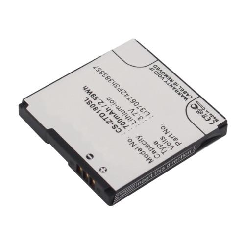 Аккумулятор CS-ZTD180SL для ZTE Li3706T42P3h383857 для Билайн А100/ Beeline A100  3.7V / 700mAh/2.59