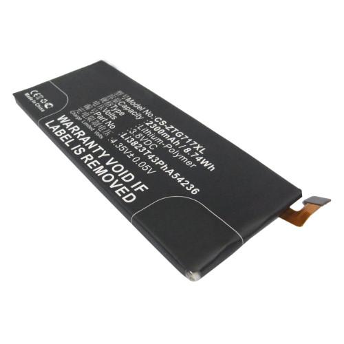 Аккумулятор CS-ZTG717XL ZTE Li3824T43P6hA54236-H для ZTE Blade S6 G717C  3.8V / 2300mAh / 8.74Wh