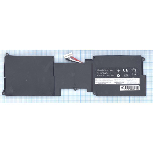 "Аккумулятор для Lenovo ThinkPad X1 13.3"" (42T4936) 2600mAh REPLACEMENT черная"