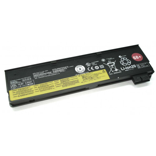 Аккумулятор для Lenovo ThinkPad x240/250 (0C52862 68+) 48Wh черная