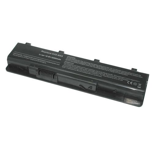 Аккумулятор для Asus N45 10.8V-11.1V 5200mAh A32-N55 REPLACEMENT черная