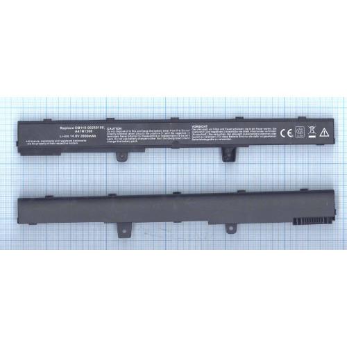 Аккумулятор для Asus X441CA X551CA (A41N1308) 14.8V 2600mAh REPLACEMENT черная