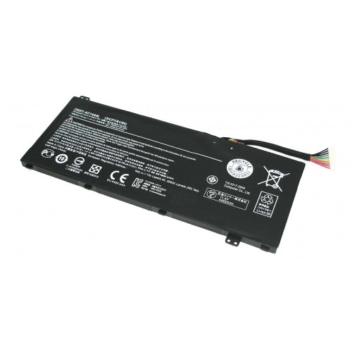 Аккумулятор для Acer Aspire VN7-571G, VN7-791 51Wh AC14A8L черная