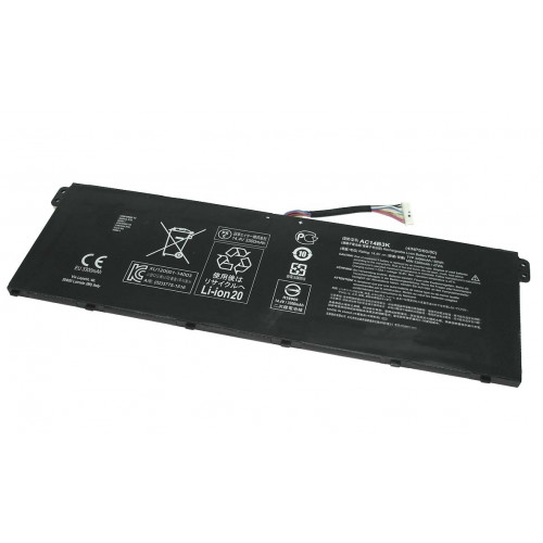 Аккумулятор для Acer CB3-531 15.2V 48Wh AC14B3K (4INP5/60/80)