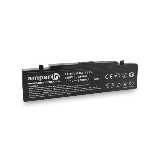 Аккумуляторная батарея Amperin для ноутбука Samsung NP, X, R, P, M 11.1V 6600mAh (73Wh) AI-R45H