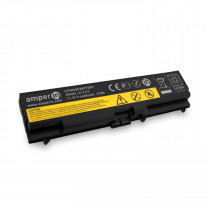 Аккумуляторная батарея Amperin для ноутбука Lenovo ThinkPad EDGE, SL, E 11.1V 4400mAh (65Wh) AI-T410