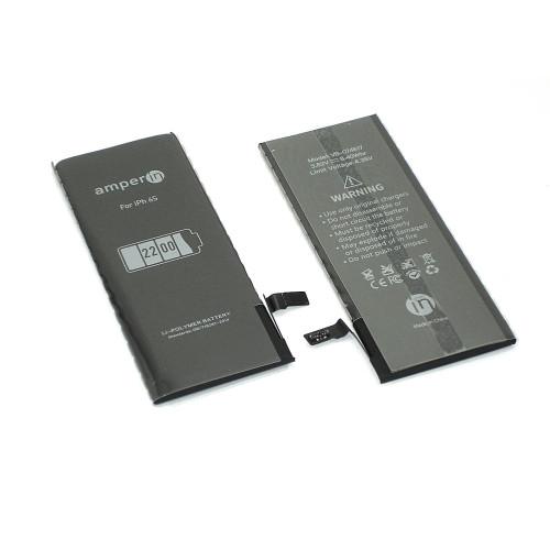 Аккумуляторная батарея Amperin для Apple iPhone 6S 3,8V 2200mAh
