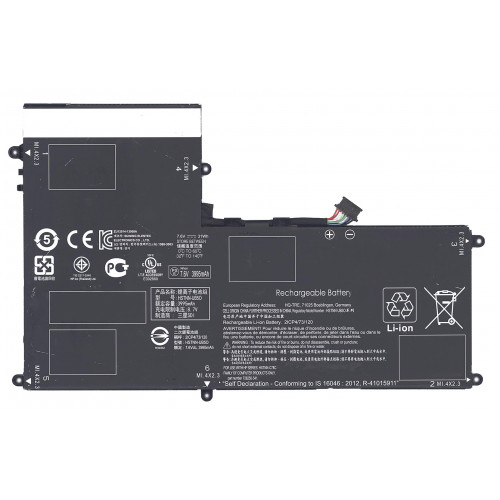Аккумуляторная батарея AO02XL для HP ELITEPAD 1000 31Wh