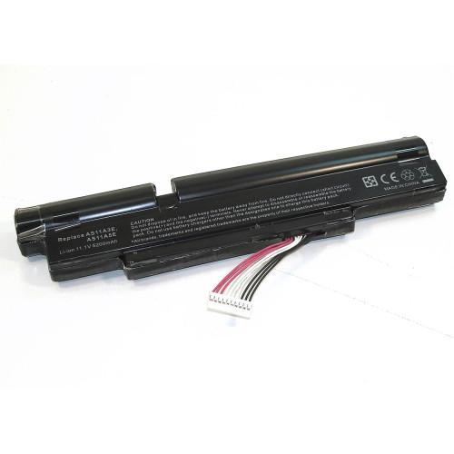 Аккумулятор для Acer Aspire 3830 (AS11A3E) 5200mAh REPLACEMENT черная