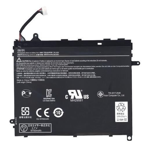 Аккумуляторная батарея для планшета Acer Iconia Tablet A510 A700 (BAT-1011) 3.7V 9800mAh черная
