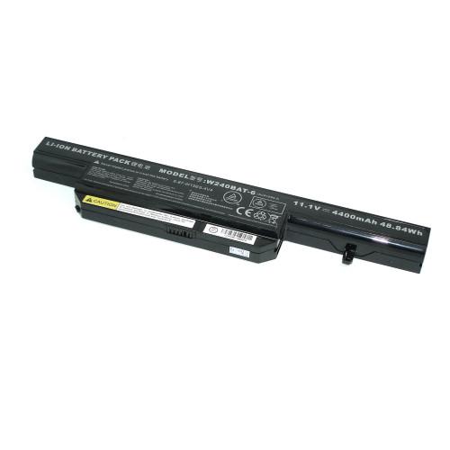 Аккумулятор для DNS Clevo W240 11.1V 4400mAh W240BAT-6 черная