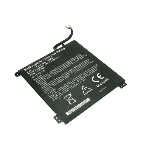 Аккумулятор для Acer One Cloudbook11 (21CP4/70/125) 9PIN 7.4V 4350mAh