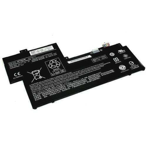 Аккумулятор для Acer One Cloudbook11 (AP16A4K) 11.25V 3770mAh черная
