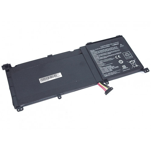 Аккумулятор для Asus ZenBook Pro UX501VW (C41N1416-4S1P) 15.2V 60Wh REPLACEMENT черная