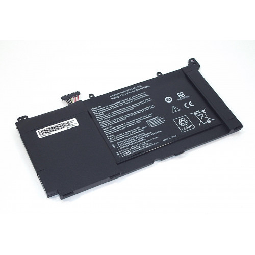 Аккумулятор для Asus S551 11.1V 4400mAh REPLACEMENT черная