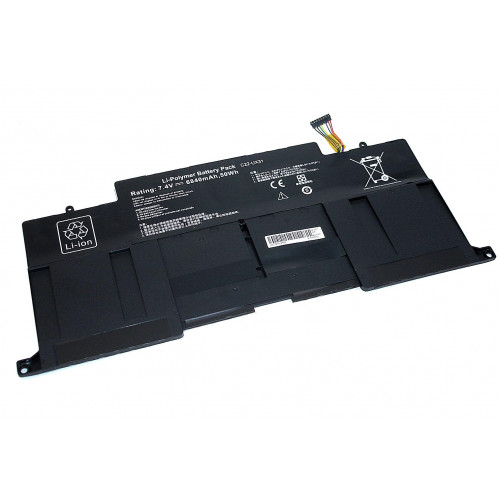 Аккумулятор для Asus UX31-2S2P 7.4V 6840mAh REPLACEMENT черная