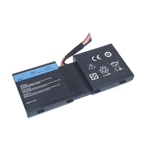 Аккумулятор для Dell Alienware 17 R1 (2F8K3) 14.8V 4400mAh черная REPLACEMENT