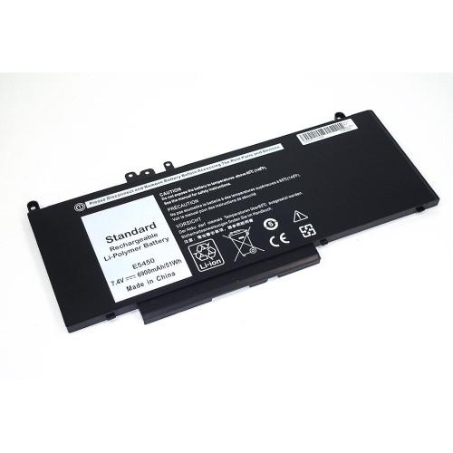 Аккумулятор для Dell Latitude E5450 (G5M10) 51Wh 7.4V черная REPLACEMENT