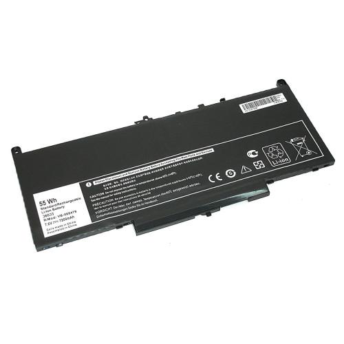 Аккумулятор для Dell Latitude 12 E7270 E7470 (J60J5) 7,6V 6800mAh REPLACEMENT