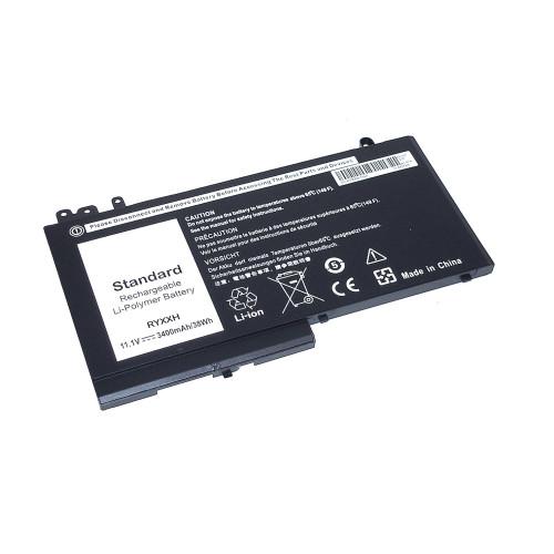 Аккумулятор для Dell Latitude E5250 (RYXXH) 11.1V 38Wh черная REPLACEMENT
