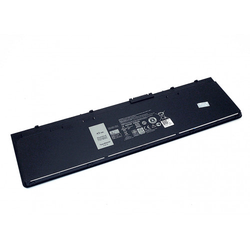 Аккумулятор для Dell Latitude E7250  E7240 (WD52H) 7.4V 45Wh черный