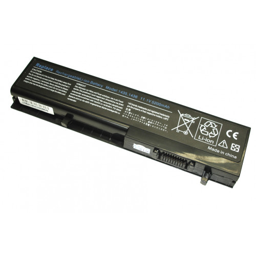 Аккумулятор для Dell Studio 1435-1436 10.8-11.1V 5200mAh черный REPLACEMENT