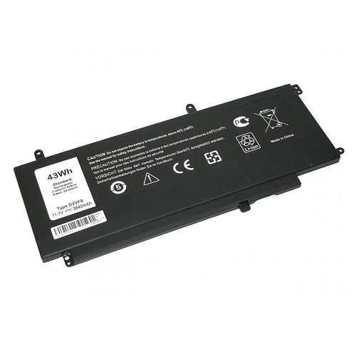 Аккумулятор для Dell Vostro 14 5000 (4P8PH) 11.1V 43Wh 3400mAh REPLACEMENT