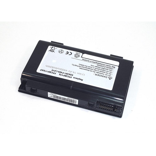 Аккумулятор для Fujitsu LifeBook A1220 14.4V 4400mAh BP176-4S2P REPLACEMENT черная
