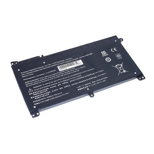 Аккумулятор для HP Pavilion x360 (BI03-3S1P) 11.55V 3400mAh REPLACEMENT черная