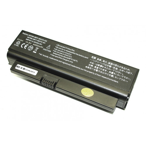 Аккумулятор для HP Compaq CQ20, CQ20-100 (HSTNN- OB77) 14.4V 5200mAh REPLACEMENT черная