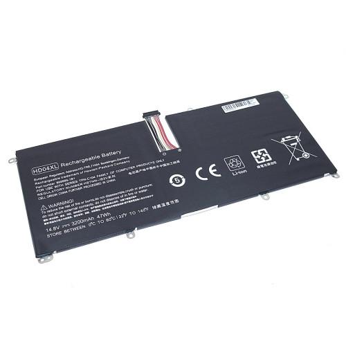 Аккумулятор для HP Envy Spectre XT 13-2120t (HD04-4S1P) 14.8V 3200mAh REPLACEMENT черная