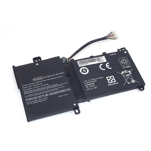 Аккумулятор для HP Pavilion x360 (HV02-2S1P) 7.6V 32Wh REPLACEMENT черная