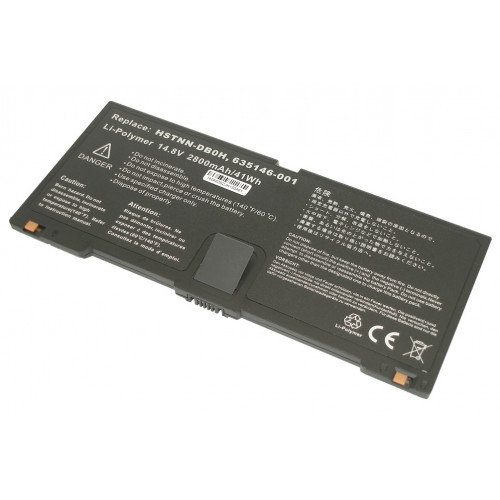Аккумулятор для HP Compaq ProBook 5330m (HSTNN-DB0H) 41-44Wh REPLACEMENT черная