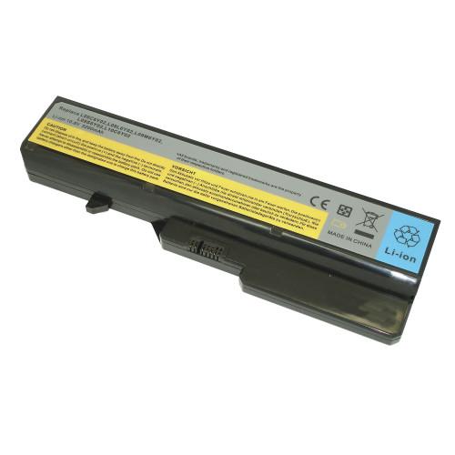 Аккумулятор для Lenovo IdeaPad G565 (L09C6Y02) 5200mAh REPLACEMENT черная