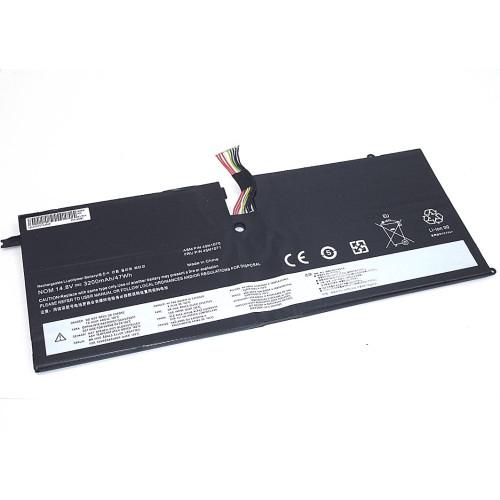 Аккумулятор для Lenovo ThinkPad X1 (45N1070-4S1P) 14.8V 3200mAh REPLACEMENT черная