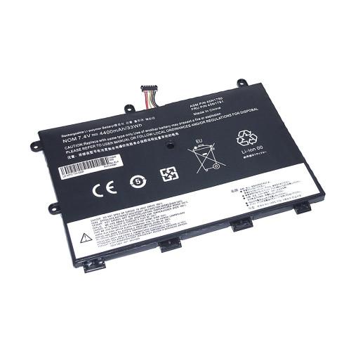 Аккумулятор для Lenovo ThinkPad Yoga 11e (45N1750-2S2P) 7.4V 4400mAh REPLACEMENT черная