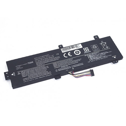 Аккумулятор для Lenovo IdeaPad  310-15ABR (L15L2PB4-2S1P) 7.6V 30Wh REPLACEMENT черная