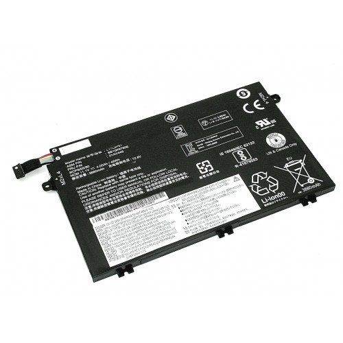 Аккумулятор для Lenovo ThinkPad E480 (L17M3P51) 11.1V 4080mAh