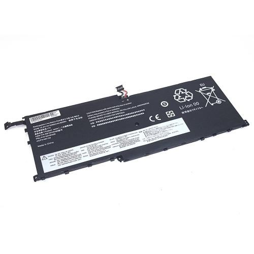 Аккумулятор для Lenovo ThinkPad X1 Carbon (00HW028) 15.2V 3290mAh REPLACEMENT черная