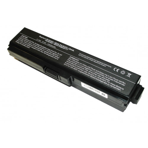 Аккумулятор для Toshiba L750 (PA3634U-1BAS) 10400mAh 10.8V REPLACEMENT черная