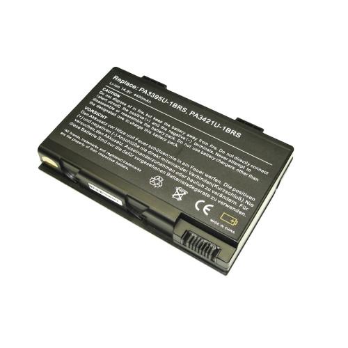 Аккумулятор для Toshiba Satellite M30X (PA3395U) 14.8V 4400mAh REPLACEMENT черная